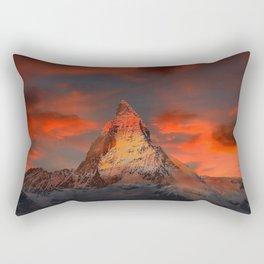 Matterhorn, Switzerland Rectangular Pillow
