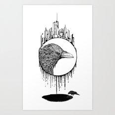 Scavenger Art Print