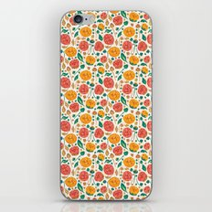 Flowers Bloom iPhone & iPod Skin