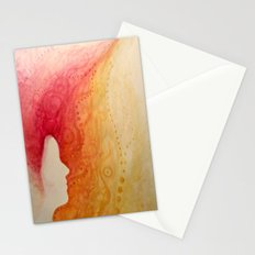 the girl who caught fire Stationery Cards