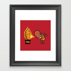 Part Time Job - Kebab Store Framed Art Print