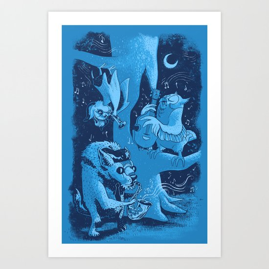 Children of the Night Art Print