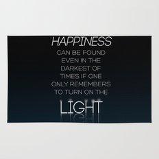 Harry Potter Albus Dumbledore Quote Rug