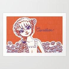 Carnation Art Print