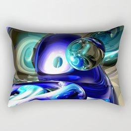 Jewel of the Nile Abstract Rectangular Pillow