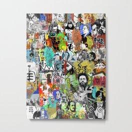URBA MONDO II Metal Print