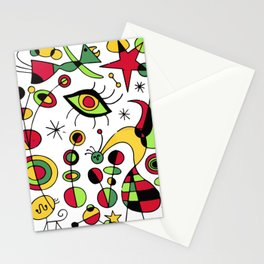 Joan Miro Peces De Colores (Colorful Fish ) Artwork for Posters Tshirts Prints Men Women Kids Stationery Cards