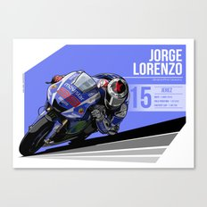 Jorge Lorenzo - 2015 Jerez Canvas Print