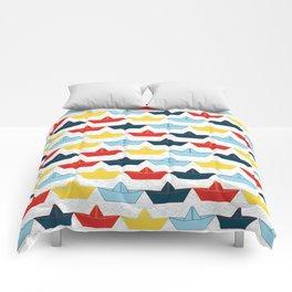 paper boat Comforters