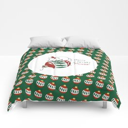 Merry Christmas Mouse Comforters