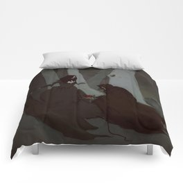 Poison Apple Comforters