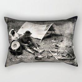 Civil War Camp Rectangular Pillow