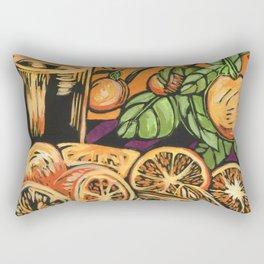 Oranges 1 Rectangular Pillow