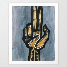 Weapon Art Print