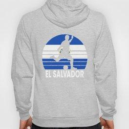 El Salvador Soccer Football SLV Hoody