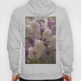 White roses and lavender scent Hoody