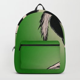 bird heron animal nature wildlife Backpack