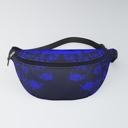 floral ornaments pattern chm120 Fanny Pack