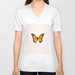 The Monarch Butterfly Unisex V-Neck