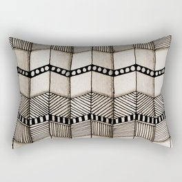Systematic Waves Rectangular Pillow