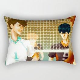 Aoba Johsai Showdown Rectangular Pillow