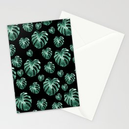 Tropical Monstera Dream #5 #tropical #pattern #decor #art #society6 Stationery Cards