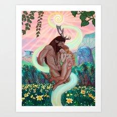 Beltane Art Print