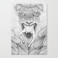 The Giant Winged Lion Canvas Print