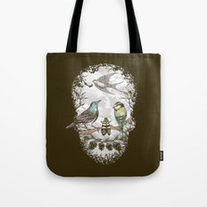 Nature's Skull II Tote Bag