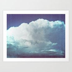 cloud mass Art Print