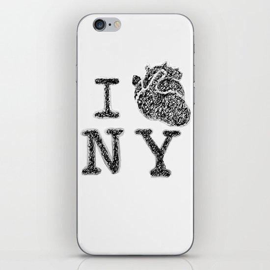 I HEART NEW YORK iPhone & iPod Skin