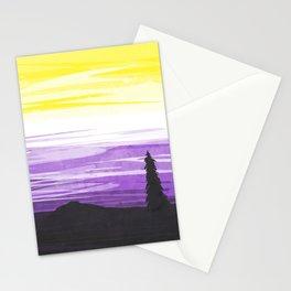 Non Binary Sky Stationery Cards
