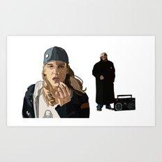 Jay and Silent Bob, Clerks 2 Art Print