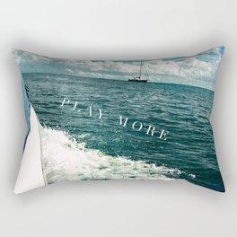 travel more, play more Rectangular Pillow