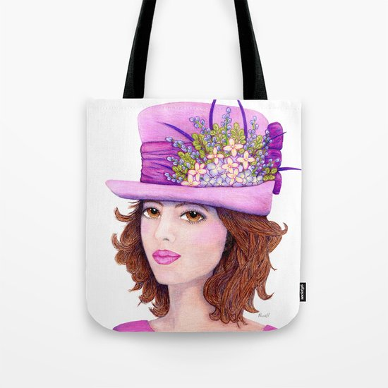 Doe-Eyed Girl by Jane Purcell Tote Bag