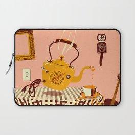 ORANGE TEA SPILL Laptop Sleeve
