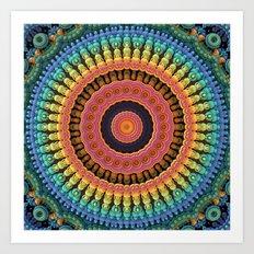 Mandala to the Max Art Print