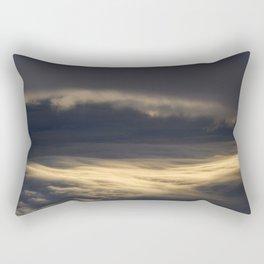 Clouds over the Atlantic Rectangular Pillow