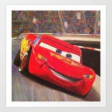 Speedy Art Print