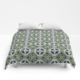 Moroccan Tea Seamless Pattern Comforters