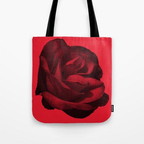 rose rouge 5 Tote Bag