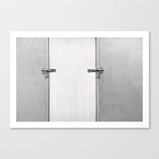 closed#04 Canvas Print