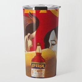 Aperol Alcohol Aperitif Spritz Vintage Advertising Poster Travel Mug