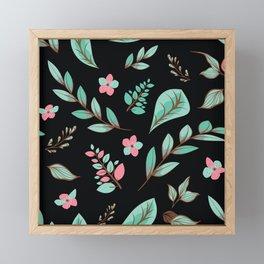 Flower Design Series 19 Framed Mini Art Print