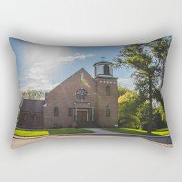 Holy Trinity Catholic Church, Fingal, North Dakota 3 Rectangular Pillow