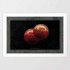 Just My 2 Cents    0008 Art Print