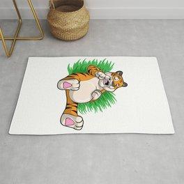 Tiger tired Rug