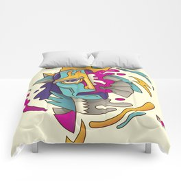 Abstarct Monsta Comforters