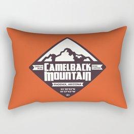 Camelback Mountain Rectangular Pillow