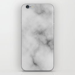 White Marble Pattern iPhone Skin